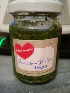 Rucola-Chili-Pesto